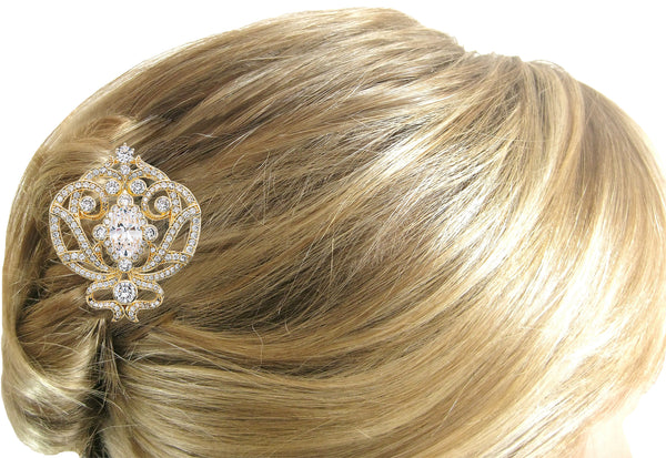 18 KGP Ornate Regal Brooch
