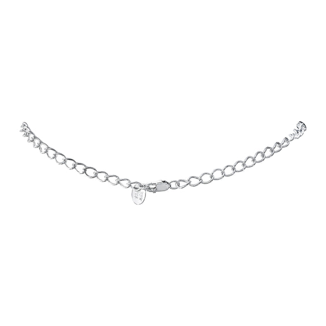 Sterling Silver Cable Chain Necklace Extension, 2.5""
