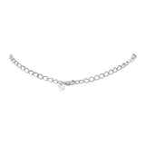 Sterling Silver Cable Chain Necklace Extension, 2.5