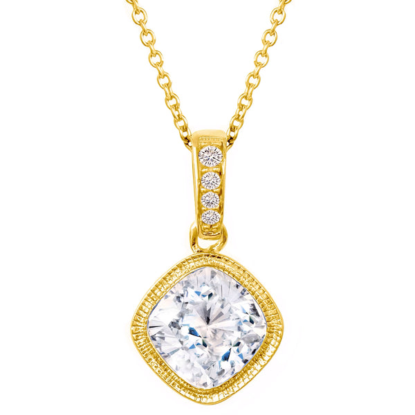18 KGP 2 Carat NoHo Necklace