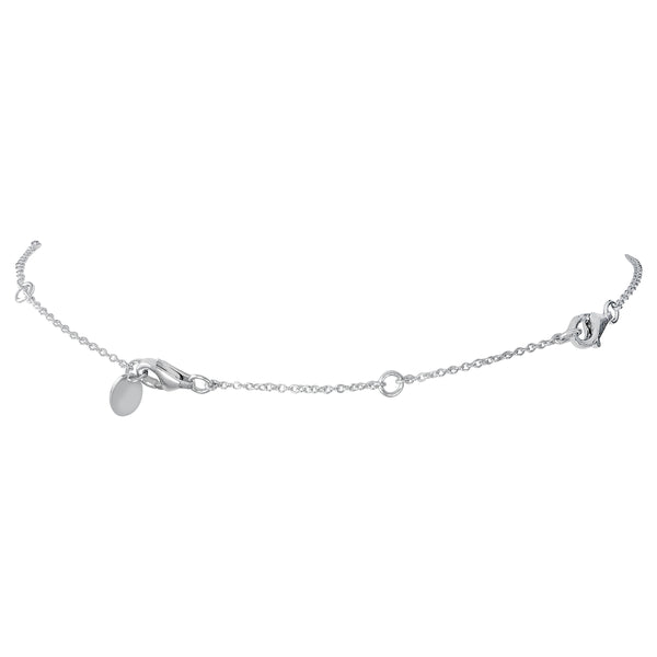 Sterling Silver Station Necklace Extension, 2.5""