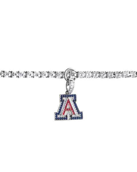 "Couture ""A"" Charm and Tennis Bracelet, Sold Together"