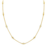 18 KGP Regal Short Floating Necklace 18