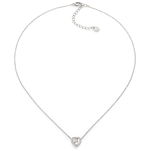 Sterling Silver Small Heart Necklace