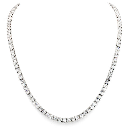 18 KGP 3 Carat Cushion Cut Floating Necklace with Halo