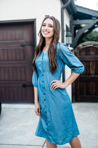 Kayla Denim Dress
