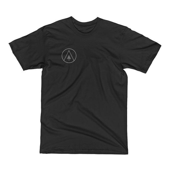 Sun, Mountain, Tree White Variant Men's Tee