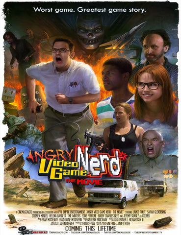 Angry Video Game Movie Poster