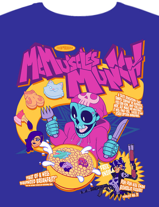 Matt McMuscles Cereal Shirt