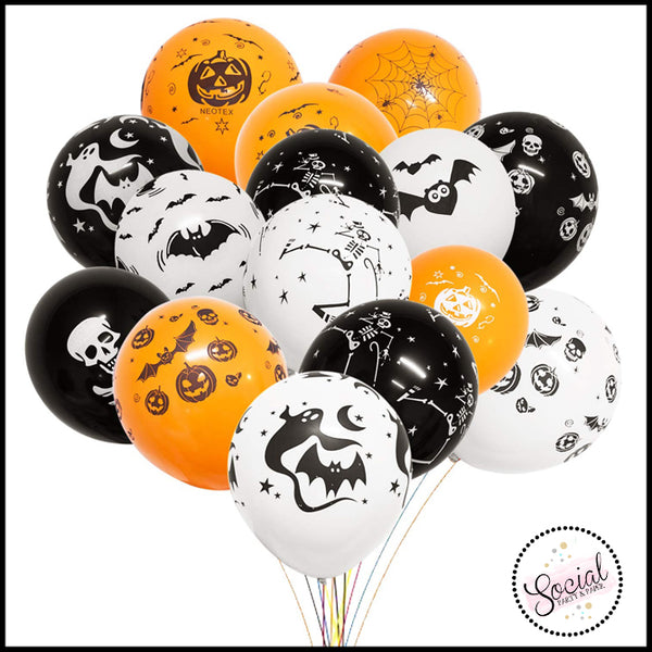 Halloween Graphic Balloons