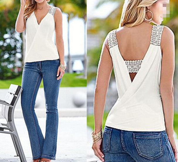 Tank Top Sleeveless Casual Women Blouse - Susoco