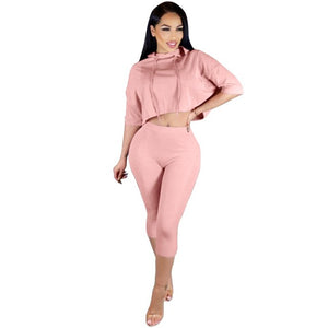 Elena Hooded Bodysuit Two Pieces
