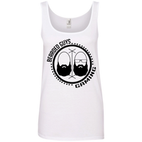 BeardedGuysGaming Dual Beard (Black Logo) Women Tank Top