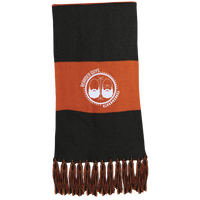 BeardedGuysGaming Dual Beard (White Logo) Fringed Scarf