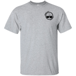 BeardedGuysGaming Dual Beard Logo w/Beardstoke on back Tee