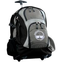 BeardedGuysGaming Dual Beard (White Logo) Wheeled Backpack