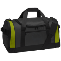 BeardedGuysGaming Dual Beard (Black Logo) Travel Sports Duffel