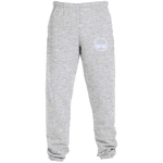 BeardedGuysGaming Dual Beard (White Logo) Sweatpants with Pockets