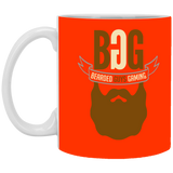 BeardedGuysGaming Single Beard Logo 11 oz. Mug