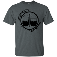 BeardedGuysGaming Dual Beard (Black Logo) Tee