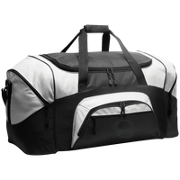 BeardedGuysGaming Dual Beard (Black Logo) Colorblock Sport Duffel
