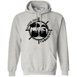 BeardedGuysGaming Pirate (Black Logo) Hoodie
