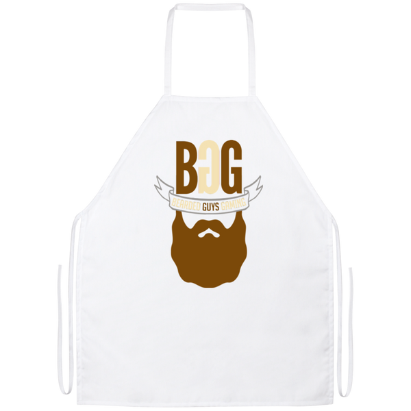 BeardedGuysGaming Single Beard Logo Apron