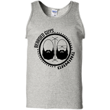 BeardedGuysGaming Dual Beard (Black Logo) Men Tank Top
