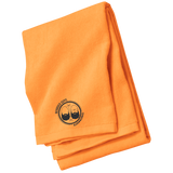 BeardedGuysGaming Dual Beard (Black Logo) Beach Towel