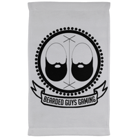 BeardedGuysGaming Vintage Logo Kitchen Towel - 11 x 18 Inch