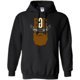 BeardedGuysGaming Single Beard Logo Hoodie