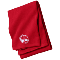 BeardedGuysGaming Dual Beard (White Logo) Beach Towel