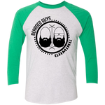 BeardedGuysGaming Dual Beard (Black Logo) Baseball Tee