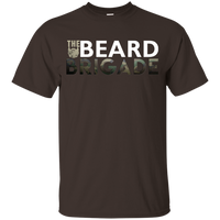 Beard Brigade (White Logo) Kids Tee