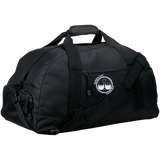 BeardedGuysGaming Dual Beard (White Logo) Basic Large-Sized Duffel Bag