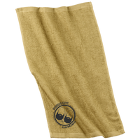 BeardedGuysGaming Dual Beard (Black Logo) Rally Towel
