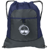 BeardedGuysGaming Dual Beard (White Logo) Pocket Cinch Pack