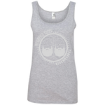 BeardedGuysGaming Dual Beard (White Logo) Women Tank Top
