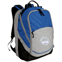 BeardedGuysGaming Dual Beard (White Logo) Laptop Computer Backpack