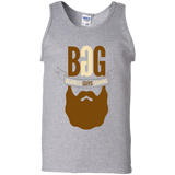 BeardedGuysGaming Single Beard Logo Men Tank Top