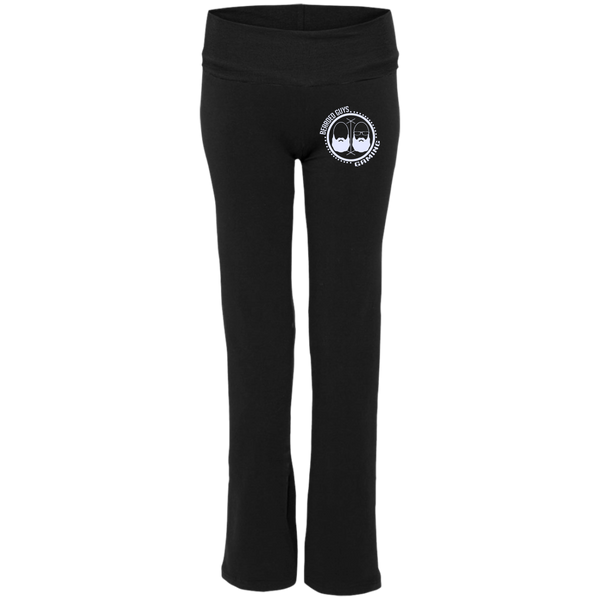 BeardedGuysGaming Dual Beard (White Logo) Ladies' Yoga Pants