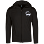 BeardedGuysGaming Dual Beard (White Logo) Lightweight Full Zip Hoodie