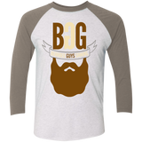 BeardedGuysGaming Single Beard Logo Baseball Tee