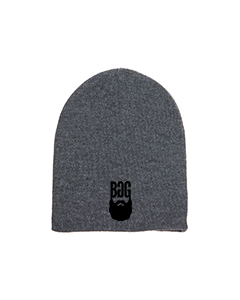 BeardedGuysGaming Grey Beanie