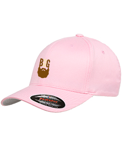 BeardedGuysGaming Pink FlexFit Hat