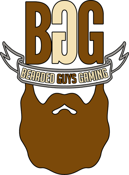 BeardedGuysGaming Single Beard Logo Temporary Tattoo
