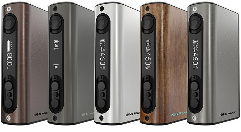The Eleaf iPower 80W TC 5000 mAh Box Mod offers a long lasting built in 5000mAh battery for all day use. The Eleaf iPower 80W TC 5000 mAh Box Mod offers a long lasting built in 5000mAh battery for all day use. The upgradeable firmware already includes Smart Mode, custom logo and the new VW interface. The Eleaf iPower 80W TC 5000 mAh Box Mod has a maximum output of 80W and provides various modes to switch between.     The Eleaf iPower 80W TC 5000 mAh Box Mod Features...  - 510 Spring Connector  - Dual Circui