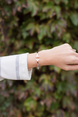 The Sydnee Bracelet Small- Silver
