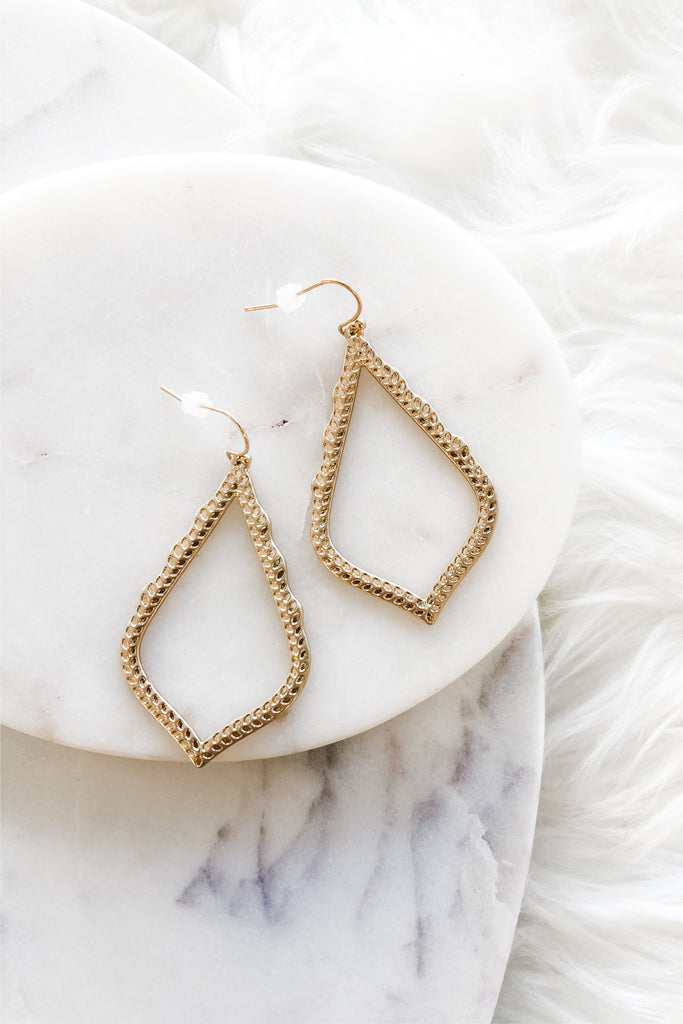 Inspire Desire Earrings- Gold