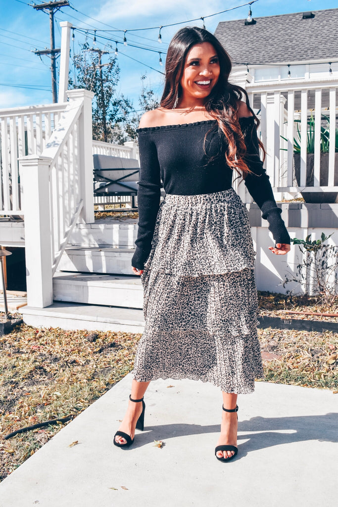 Switch It Up Midi Skirt